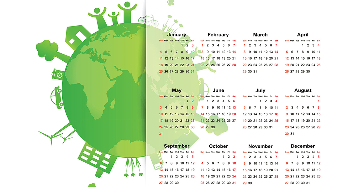 Environmental Events-Global Eco Calendar of Sustainable Events