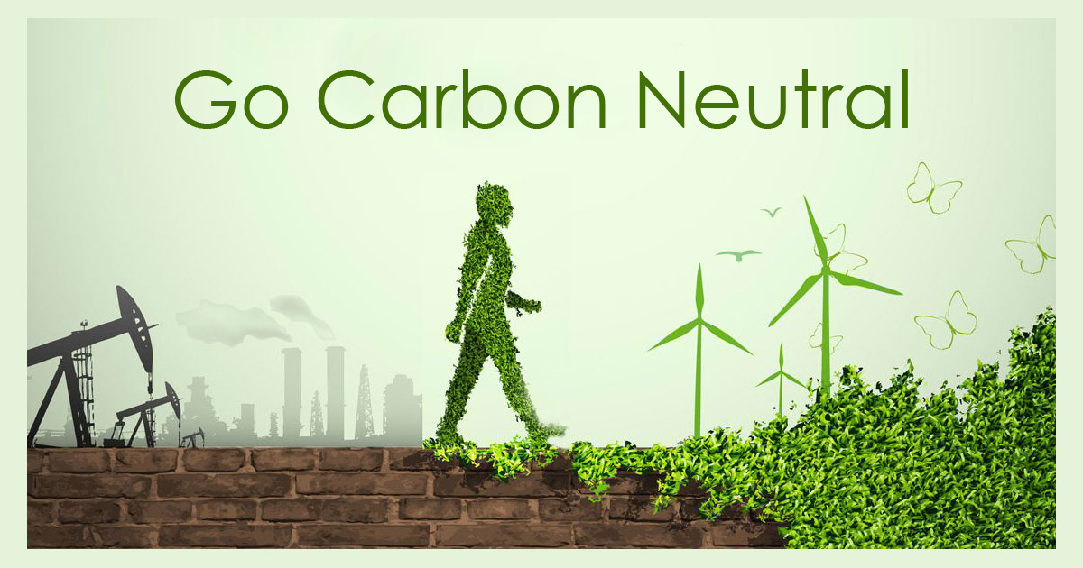 go carbon neutral  top two ways to become carbon neutral