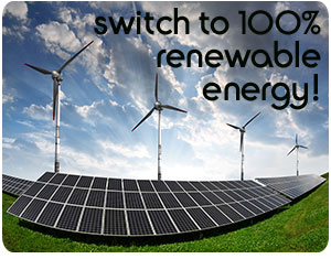 Go Green Hotel 100% Renewable Energy