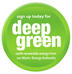 Deep Green - 100 percent renewable energy from the Marin Energy Authority