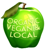 Vegan, Organic and Local - Apple
