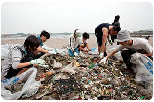 Calendar of Global Environmental Events: World Coastal Cleanup Day