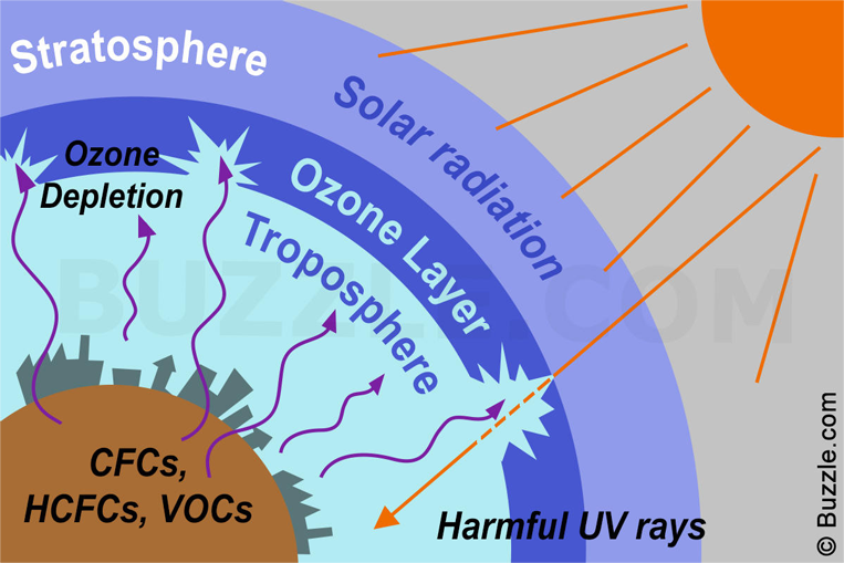 How Ozone Layer is Depleted